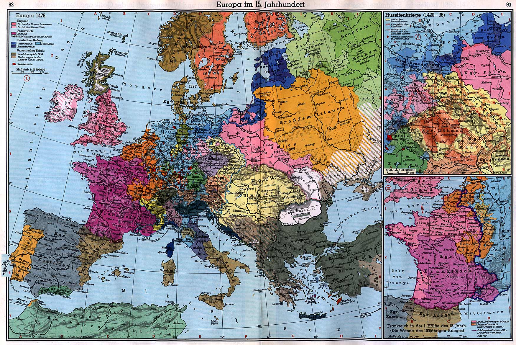 15th Century Map Of Europe.Maps