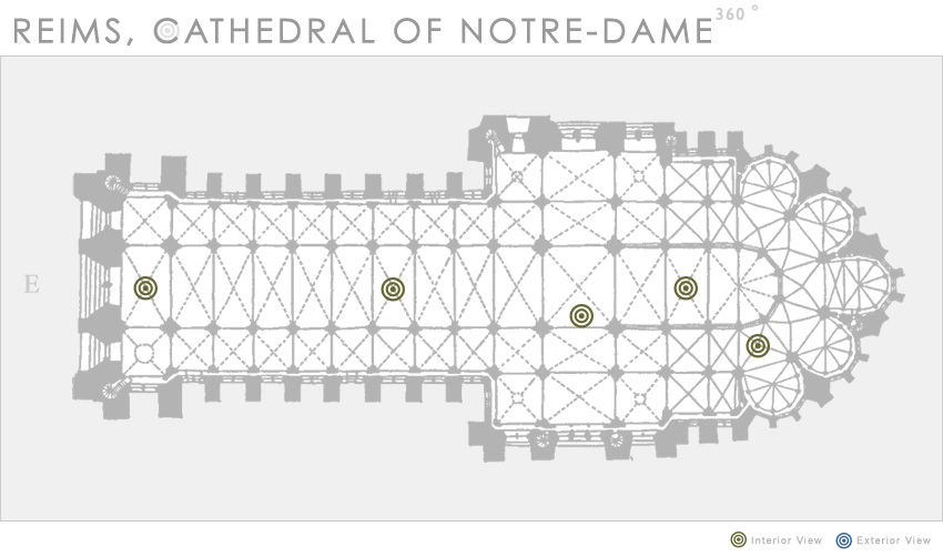 Reims, Cathedral of Notre-Dame, 360 | Department of Art History and ...