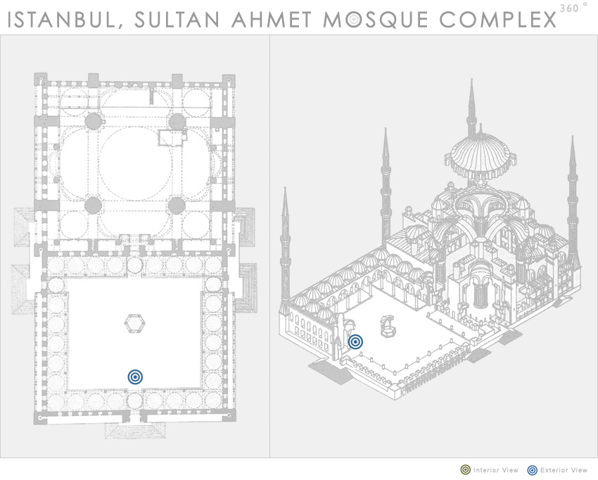 Istanbul Sultan Ahmet Mosque Complex 360 Department Of Art History And Archaeology