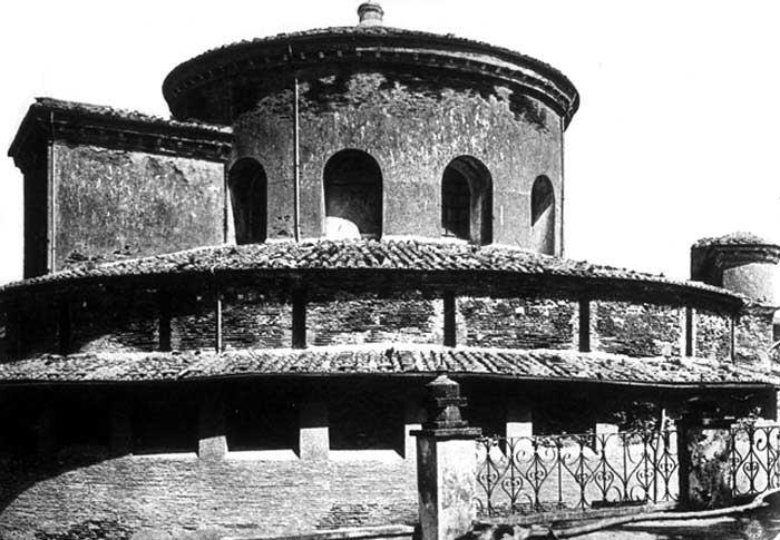 santa costanza architecture