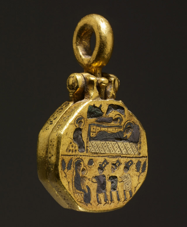 Reliquary pendant with the adoration of the magi treasures of heaven reliquary pendant with the adoration of the magi aloadofball Image collections